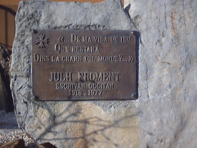 Julh Froment epitaph by SAGReiss
